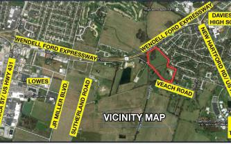 Vicinity Map for Property